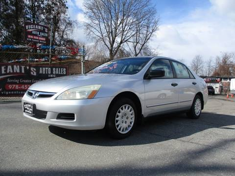 2006 Honda Accord for sale in Lowell, MA