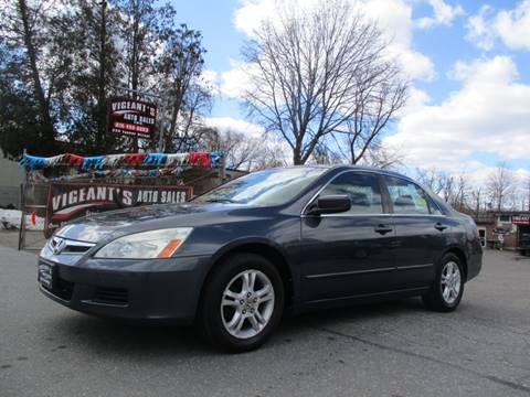 2007 Honda Accord for sale in Lowell, MA