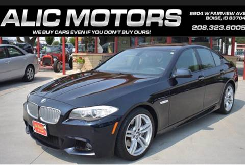 2011 BMW 5 Series For Sale In Boise ID
