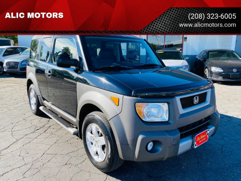 2003 Honda Element for sale at ALIC MOTORS in Boise ID