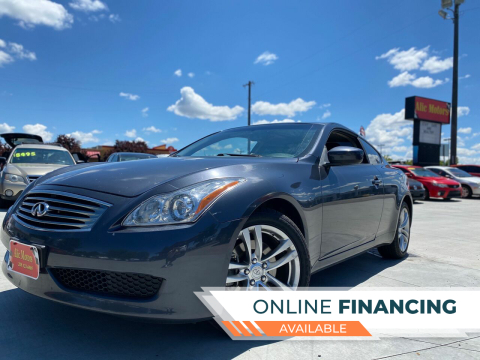 2009 Infiniti G37 Coupe for sale at ALIC MOTORS in Boise ID