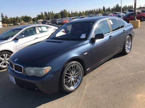 2002 BMW 7 Series for sale at ALIC MOTORS in Boise ID