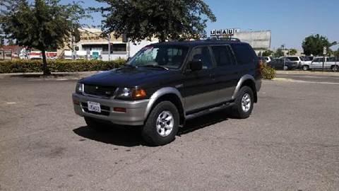 1998 Mitsubishi Montero Sport for sale at Larry's Auto Sales Inc. in Fresno CA
