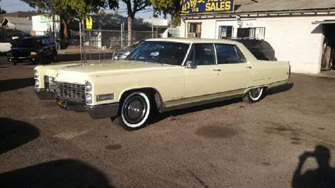 1966 Cadillac Fleetwood for sale at Larry's Auto Sales Inc. in Fresno CA