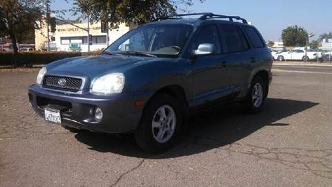 2001 Hyundai Santa Fe for sale at Larry's Auto Sales Inc. in Fresno CA