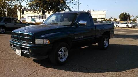 1997 Dodge Ram Pickup 1500 for sale at Larry's Auto Sales Inc. in Fresno CA