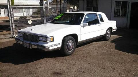 1988 Cadillac DeVille for sale at Larry's Auto Sales Inc. in Fresno CA