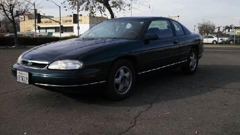 1999 Chevrolet Monte Carlo for sale at Larry's Auto Sales Inc. in Fresno CA