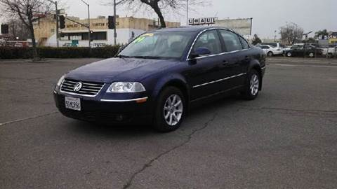 2004 Volkswagen Passat for sale at Larry's Auto Sales Inc. in Fresno CA