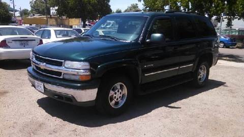 2002 Chevrolet Tahoe for sale at Larry's Auto Sales Inc. in Fresno CA