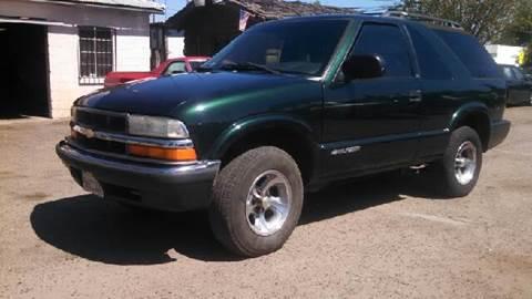 2001 Chevrolet Blazer for sale at Larry's Auto Sales Inc. in Fresno CA
