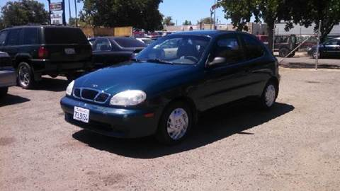 2000 Daewoo Lanos for sale at Larry's Auto Sales Inc. in Fresno CA