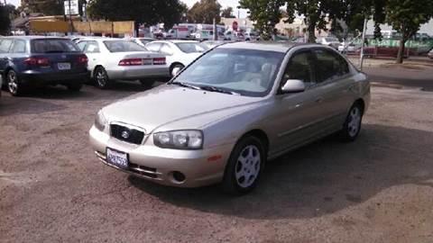 2001 Hyundai Elantra for sale at Larry's Auto Sales Inc. in Fresno CA