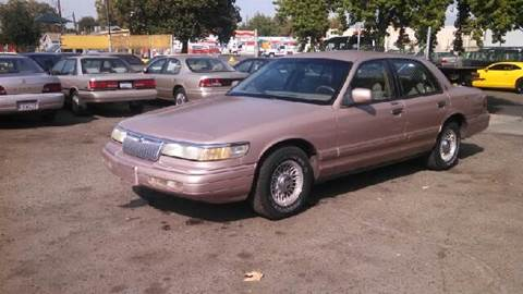 1993 Mercury Grand Marquis for sale at Larry's Auto Sales Inc. in Fresno CA