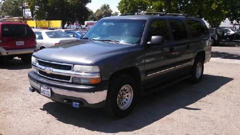 2001 Chevrolet Suburban for sale at Larry's Auto Sales Inc. in Fresno CA