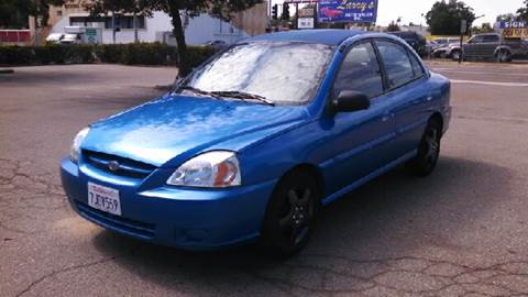 2005 Kia Rio for sale at Larry's Auto Sales Inc. in Fresno CA