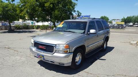 2001 GMC Yukon for sale at Larry's Auto Sales Inc. in Fresno CA