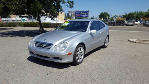 2002 Mercedes-Benz C-Class for sale at Larry's Auto Sales Inc. in Fresno CA