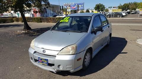 2003 Suzuki Aerio for sale at Larry's Auto Sales Inc. in Fresno CA