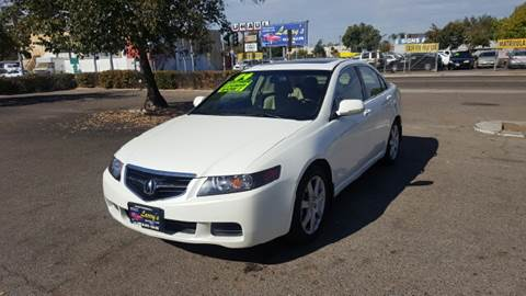 2004 Acura TSX for sale at Larry's Auto Sales Inc. in Fresno CA