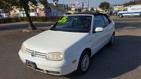2002 Volkswagen Cabrio for sale at Larry's Auto Sales Inc. in Fresno CA