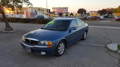 2002 Lincoln LS for sale at Larry's Auto Sales Inc. in Fresno CA