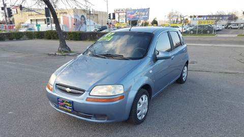 2007 Chevrolet Aveo for sale at Larry's Auto Sales Inc. in Fresno CA