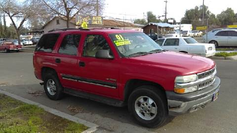 2001 Chevrolet Tahoe for sale at Larry's Auto Sales Inc. in Fresno CA