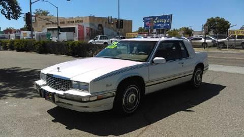 1990 Cadillac Eldorado for sale at Larry's Auto Sales Inc. in Fresno CA