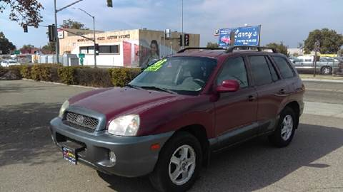 2003 Hyundai Santa Fe for sale at Larry's Auto Sales Inc. in Fresno CA