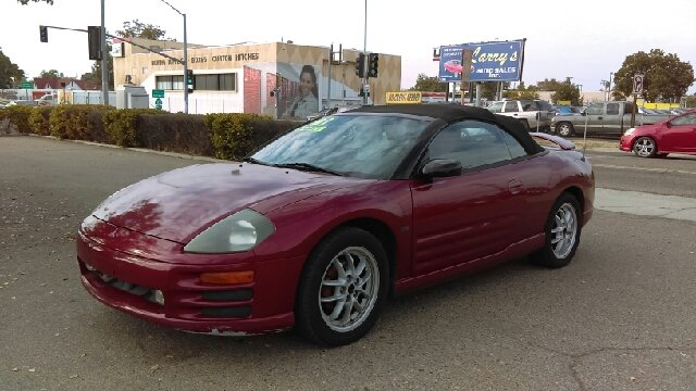 2001 Mitsubishi Eclipse Spyder Gt 2dr Convertible In Fresno Ca