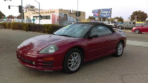 2001 Mitsubishi Eclipse Spyder for sale at Larry's Auto Sales Inc. in Fresno CA