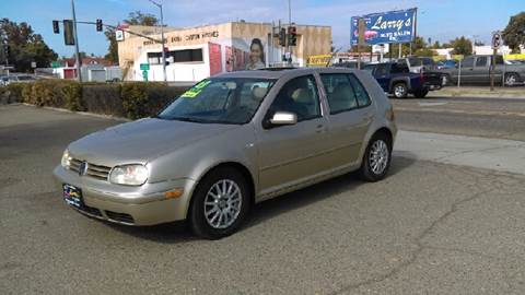 2003 Volkswagen Golf for sale at Larry's Auto Sales Inc. in Fresno CA