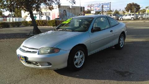 2003 Chevrolet Cavalier for sale at Larry's Auto Sales Inc. in Fresno CA