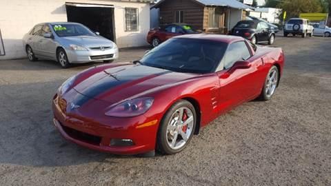 2008 Chevrolet Corvette for sale at Larry's Auto Sales Inc. in Fresno CA
