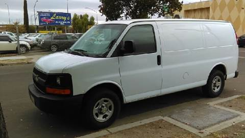 2007 Chevrolet Express Cargo for sale at Larry's Auto Sales Inc. in Fresno CA