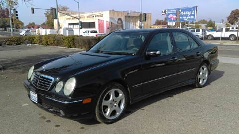 2001 Mercedes-Benz E-Class for sale at Larry's Auto Sales Inc. in Fresno CA