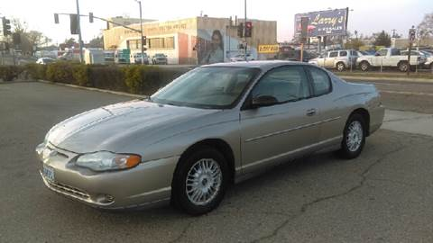 2002 Chevrolet Monte Carlo for sale at Larry's Auto Sales Inc. in Fresno CA