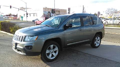 2012 Jeep Compass for sale at Larry's Auto Sales Inc. in Fresno CA