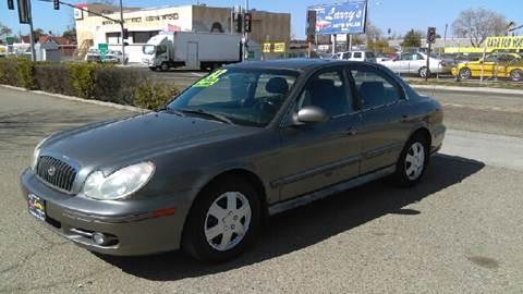 2002 Hyundai Sonata for sale at Larry's Auto Sales Inc. in Fresno CA