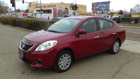 2012 Nissan Versa for sale at Larry's Auto Sales Inc. in Fresno CA