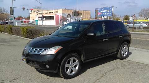 2003 Nissan Murano for sale at Larry's Auto Sales Inc. in Fresno CA