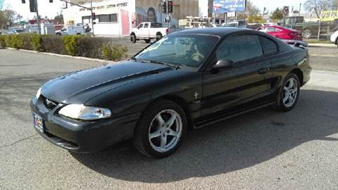 1998 Ford Mustang for sale at Larry's Auto Sales Inc. in Fresno CA