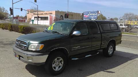 2000 Toyota Tundra for sale at Larry's Auto Sales Inc. in Fresno CA