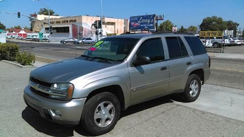 2003 Chevrolet TrailBlazer for sale at Larry's Auto Sales Inc. in Fresno CA