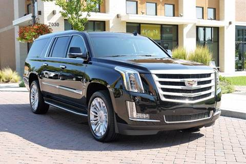 2016 Cadillac Escalade ESV for sale in Brentwood, TN