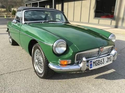 1963 MG B