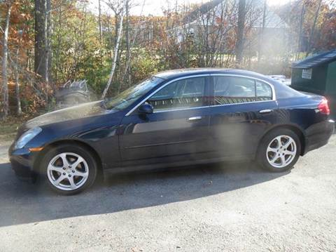 2004 Infiniti G35 for sale at D & F Classics in Eliot ME