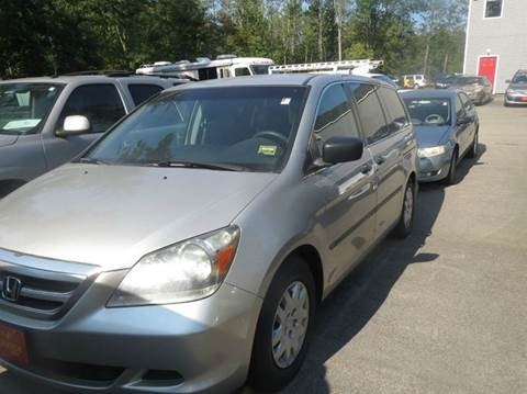 2006 Honda Odyssey for sale at D & F Classics in Eliot ME