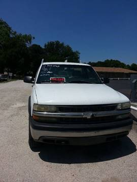 2002 Chevrolet Silverado 2500 for sale at A ASSOCIATED VEHICLE SALES in Weatherford TX